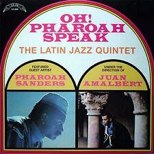 LATIN JAZZ QUINTET Oh! Pharoah Speak Pharoah Sanders & Juan Amalbert SEALED LP