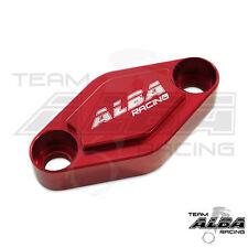 TRX 300EX 300X 250EX 250X  Parking Brake Blockoff Plate  Block off Plate Red