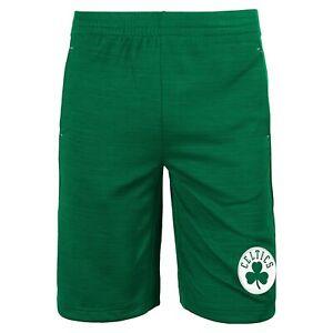 Outerstuff Boston Celtics NBA Boys Youth (8-20) Free Throw Shorts, Green