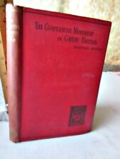 The CO-OPERATIVE MOVEMENT In GREAT BRITAIN,1895,Beatrice POTTER(Mrs.Sidney Webb)