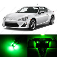 4 x Green LED Interior Lights Package For 2013 and Up Scion FRS