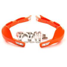 "7/8"" Brake Clutch Lever Protector Protection Handguard Hand Guard 22mm Orange"