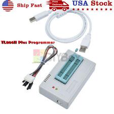 Usb Tl866ii Plus Programmer Eprom Eeprom Flash Mini Pro Bios Avr Al Pic Sp Mcu