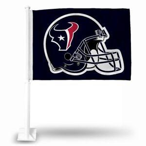 Houston Football Texans 11X14 Window Mount 2-Sided Car Flag