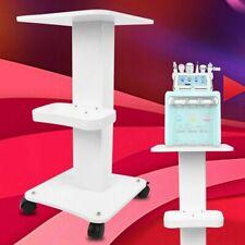 Professional Beauty Salon Trolley Salon Pedestal Rolling Cart Wheel Stand Tool