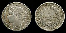 France - 5 Francs 1850 (A) ~ silver