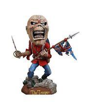 Iron Maiden Eddie The Trooper Headknocker  Wackelkopf  action figur neca. Neu