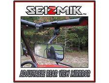 "Seizmik Kubota RTV-X900 REAR VIEW MIRROR 2"" Steel Clamp HD Wide Angle Lens"