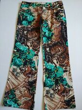 Baby Phat Womens Pants Size 11 Brown Teal