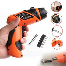 Mini Portable 6V Screwdriver Electric Drill Battery Operated Cordless AT