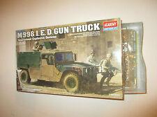 M998 I.E.D.GUN TRUCK 13405 KIT MONTAGGIO ACADEMY SCALA 1:35