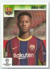 2020-21 Topps Merlin Heritage 95 - Ansu Fati - FC Barcelona - Base Card #8