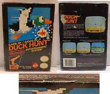 Console NINTENDO Gioco Game NES 8 BIT PAL Versione Italiana DUCK HUNT Mattel NEW