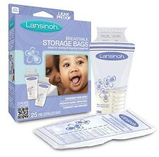 Lansinoh Breast milk Storage New Bags 25