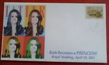 Stamp cover, 2011 Great Britain, Royal Wedding Prince William & Kate