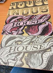 House Industries Font Catalog No. 59, 2 Newsprint Editions + Original-Set Of 3!