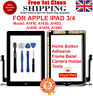 For iPad 3 A1416 A1430 A1403 Black Touch Screen Lens Digitizer Glass Replacement