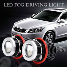 LED Xenon Angel Eyes Driving Fog Light For BMW E60 E61 E63 E65/E66 120W 1800LM