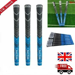 3pcs/Set-Golf Pride MCC Plus4 Grips Decade Blue Midsize Multi-Compound UK