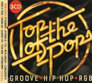 Top Of The Pops Groove Hip Hop R&B (3 x CD) MC Hammer/Soul II Soul/Jamiroquai
