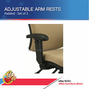 Office Chair Adjustable Arm Rest Height Adjustable Desk Chairs Arms Pad & Bolts