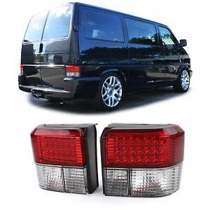 LED Rückleuchten rot klar für VW Bus Transporter T4 90-03