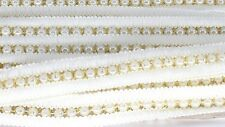 Sea Pearl Beaded Lace Trim Ribbons for Trimming Sewing Dress Decortaions 1 Meter