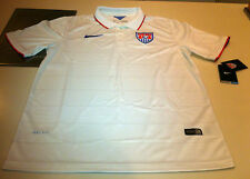 Team USA Home 2014 World Cup Soccer Home Jersey Short Sleeves Small Men's White