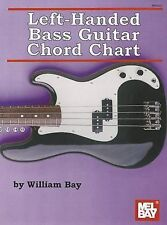 Left-Handed Bass Guitar Chord Chart by William Bay (Paperback / softback, 2011)