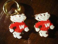 Bucky Badger key chain &  magnet