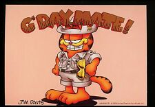 Comics postcard Garfield Cat Jim Davis Australia Safari