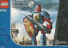 LEGO  8794 Sir Santis - Knights Kingdom