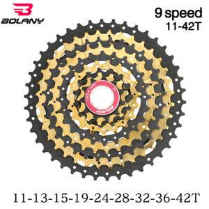 Mountain Bike Freewheel 9S 11-42T MTB Bicycle Cassette Ultralight Flywheel Cog