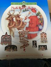 The Cat'S Meow Village - North Pole Collection 1997 (Signed And Dated)