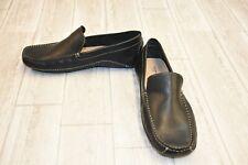 Giorgio Brutini Trevor Leather Driving Moccasins, Men's Size 10M, Black