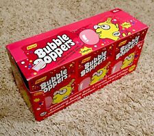 Vintage 1992 BUBBLE BOPPERS Gum Display Box & PACKS candy container POP ROCKS