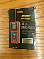 New Listingjohnson Level Amp Tool Ldm85 Laser Distance Meterindoor85 Ft
