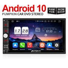 Pumpkin Android 10.0 Autoradio RAM:4GB Doppio 2 DIN Stereo GPS Radio Wifi DAB+