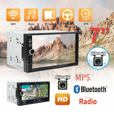 "Doble 2Din Autoradio Android 6.0 7"" MP5 Bluetooth FM GPS estéreo Pantalla táctil"