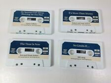 Vintage AMWAY Motivational Tapes     e