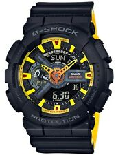 Casio G-Shock * GA110BY-1A Anadigi Layered Black & Yellow Gshock COD PayPal