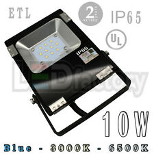 10W IP65 UL (Blue-Cool White-Warm White) LED FloodLight -Outdoor Use/LED-Factory