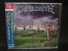 MEGADETH Youthanasia + 4 JAPAN SHM CD Metallica MD.45 Vixen Hawaii OHM Menza