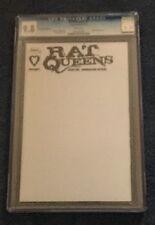 Rat Queens #1 Blank Convention Variant CGC 9.8