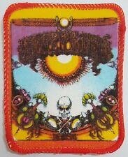 "Grateful Dead ""Aoxomoxoa"" Vintage Patch 80s Aufnäher Psychedelic Rock Badge"