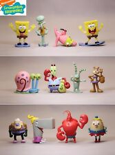 12 PCS SpongeBob SquarePants  Action Figures Set