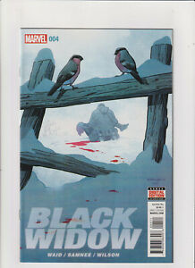 Black Widow #4 NM- 9.2 Marvel Comics 2016 Avengers Hawkeye