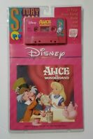 """""""Alice in Wonderland"""" -- 24 Page Read-Along Book and Tape Disney Vintage"""