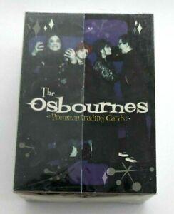 The Osbournes Trading Cards Complete Set 1-72 Inkworks Ozzy Sharon Jake