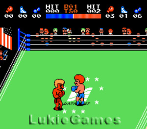 Ring King Boxing - NES Nintendo Game